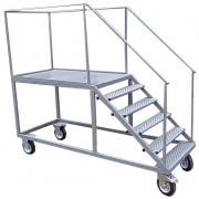 Лестница металлическая передвижная ВД-1
