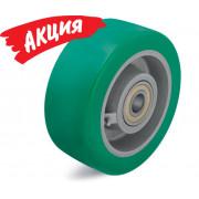 Большегрузное колесо GST-302/30K c полиуретановым контактным слоем Blickle Softhane, с основанием колеса из чугуна