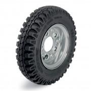 Колесо Blickle PA 402/4 с фланцевым креплением с пневматической шиной и ободом из листовой стали ⌀ 400 мм