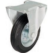 Неповоротный ролик В-VE «Blickle» Ø 125 мм с крепежной панелью