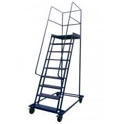 Лестница металлическая передвижная ДП-4