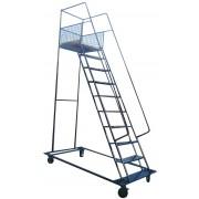 Лестница металлическая передвижная ДП-5